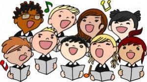 Coro bambini colori