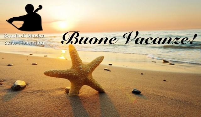 Buone vacanze - estate