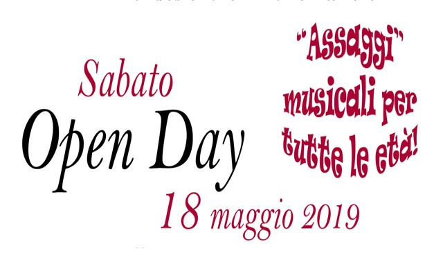 Open Day per sito 2019